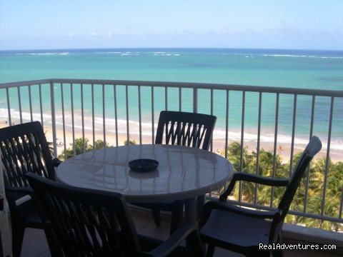 Ocean front balcony (#7 of 10) - Best Beach Area in Isla Verde Beach Area, San Juan