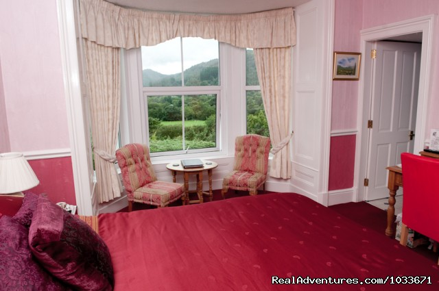 King size room Bryn Bella Guest House - Charming Victorian Guest House in the Snowdonia