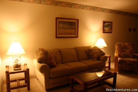 Living area - Affordable Luxury in Kihei Hawaii