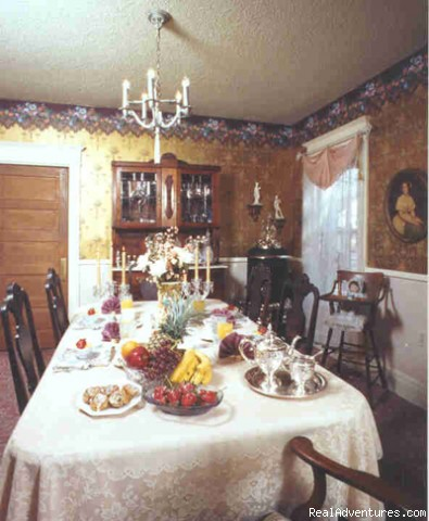 Savor elegant gourmet breakfasts - Victorian Getaway at Holden House Bed & Breakfast