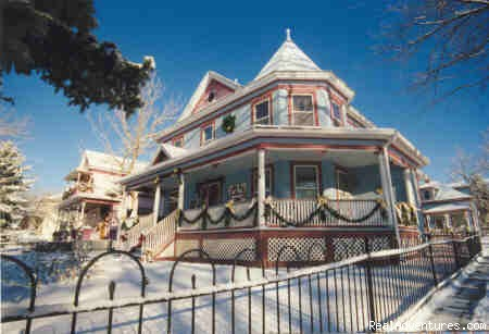 - Victorian Getaway at Holden House Bed & Breakfast