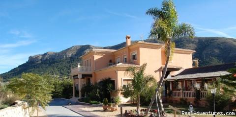 La Plantacion - Costa Blanca Climbing  La Plantacion Hotel