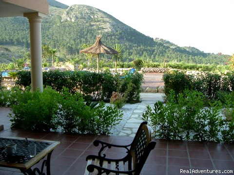 View From Rooms - Costa Blanca Climbing  La Plantacion Hotel