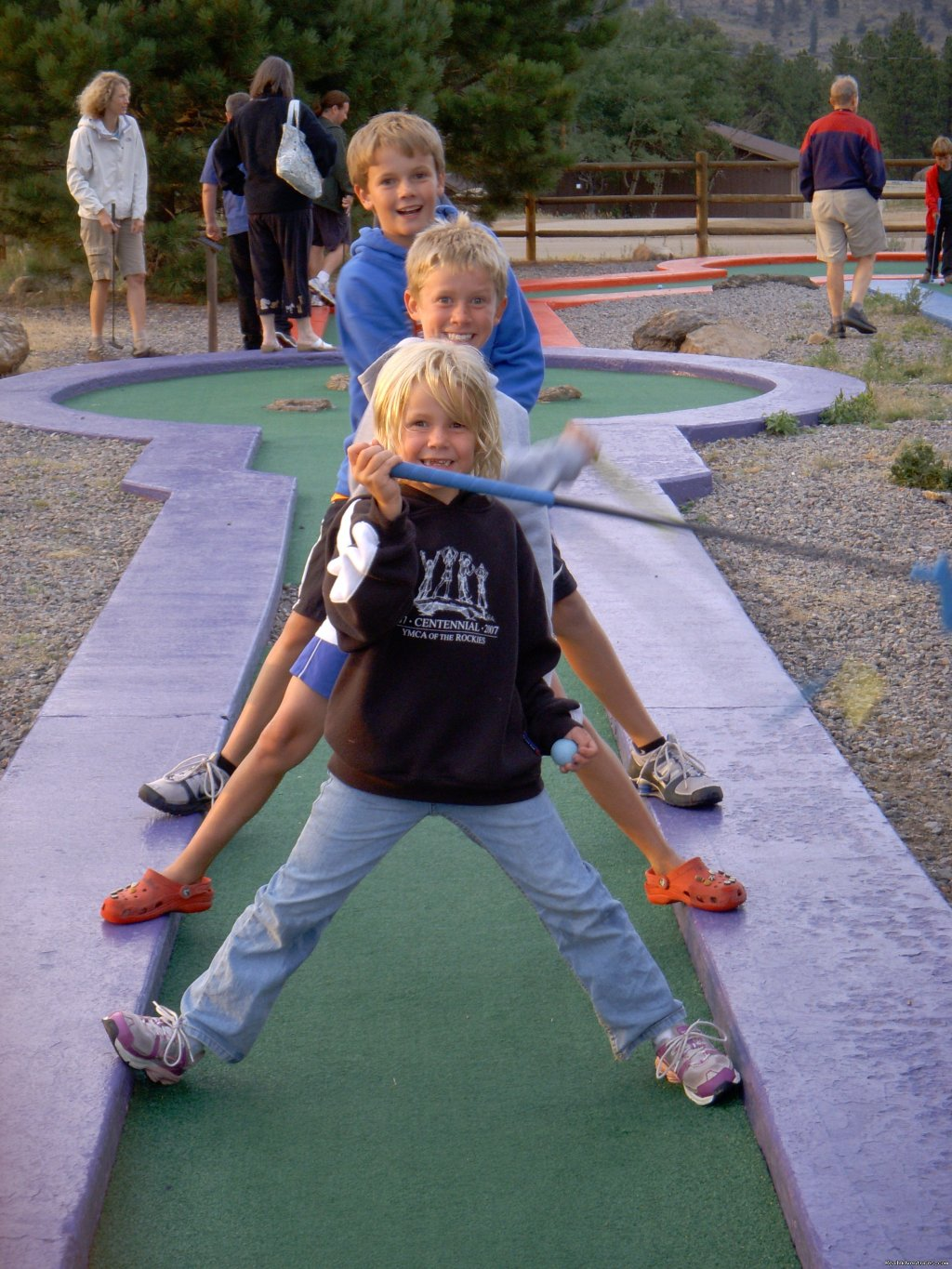 Mini golf | Image #2/14 | Family and Group fun in our lodges and cabins.