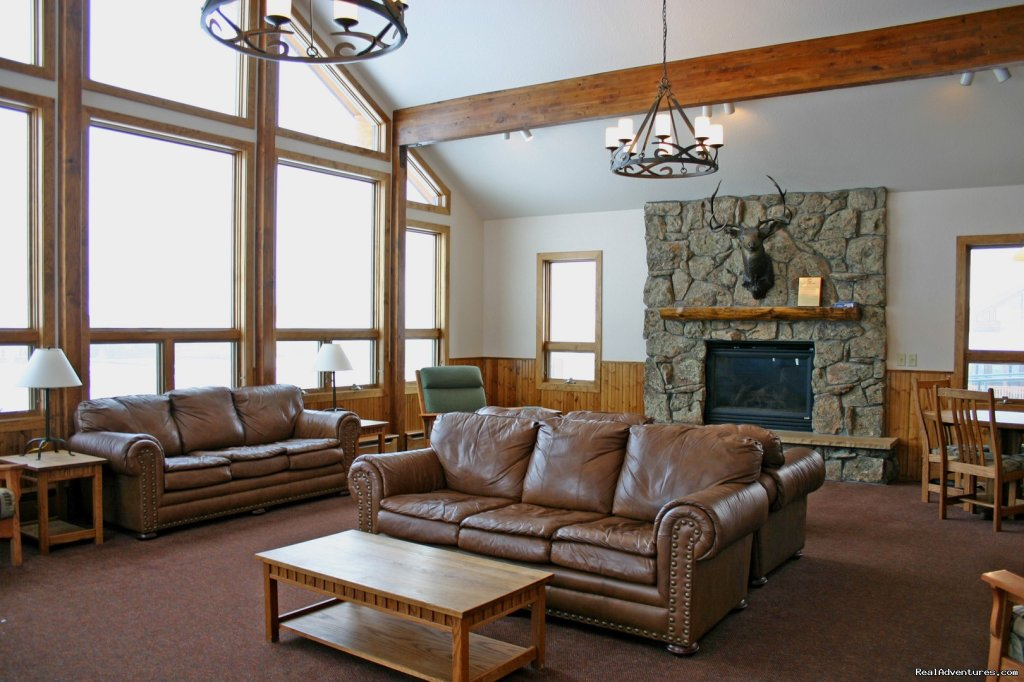 Interior of 8 bedroom reunion cabin | Image #8/14 | Family and Group fun in our lodges and cabins.