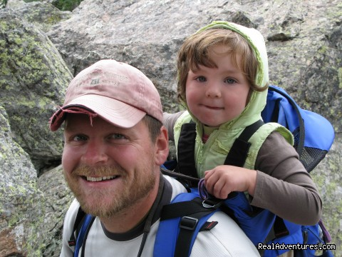 Hiking - Family and Group fun in our lodges and cabins.