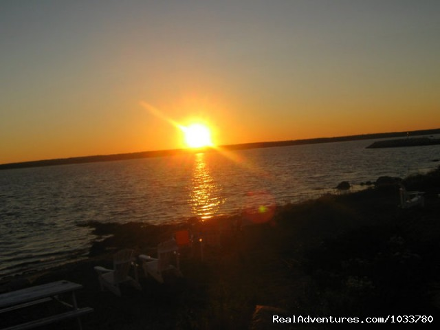 Sunset - Romantic Oceanfront Cottage Nova Scotia
