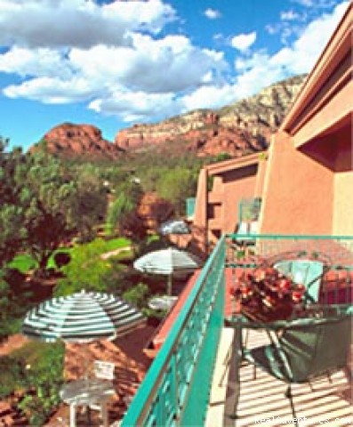 Thunder Mountain from Panache Balcony - AAA 4-Diamond - As seen on the Travel Channel