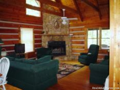 Blue Ridge Mtn Vacation Cabins-View-Water-Hot Tubs Photo #1
