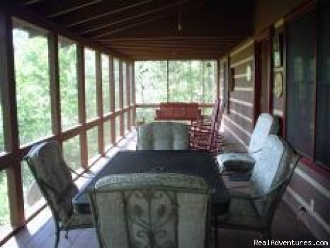 Photo #3 (#3 of 10) - Blue Ridge Mtn Vacation Cabins-View-Water-Hot Tubs