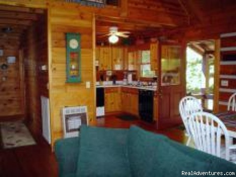 Image #7 of 10 - Blue Ridge Mtn Vacation Cabins-View-Water-Hot Tubs