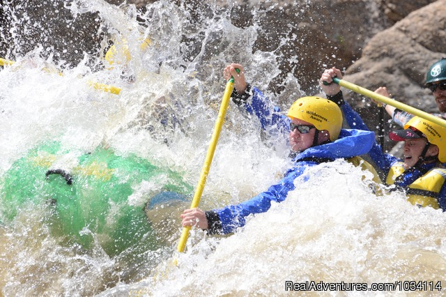 Enjoy riverside camping on a multi-day - Colorado Adventures - Rafting, Biking and Horses