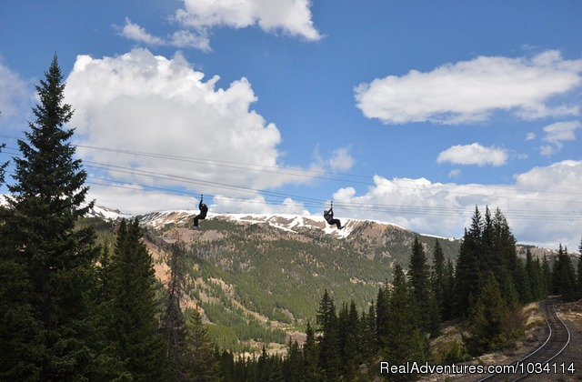 - Colorado Adventures - Raft, Bike, Zip & Horseback
