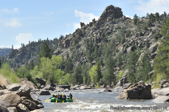 Browns Canyon National Monument Arkansas River - Colorado Adventures - Raft, Zip & Horseback
