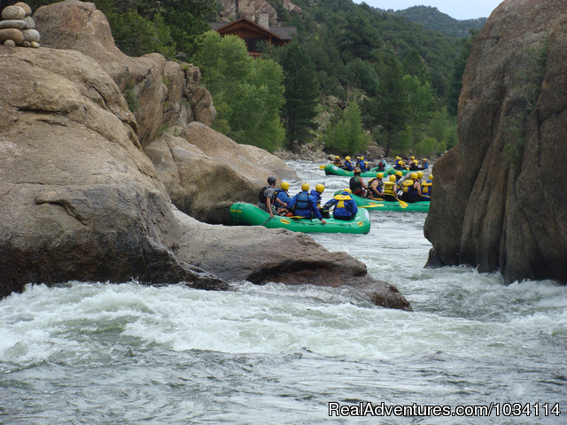 Narrows - Arkansas River - Colorado Adventures - Raft, Zip & Horseback