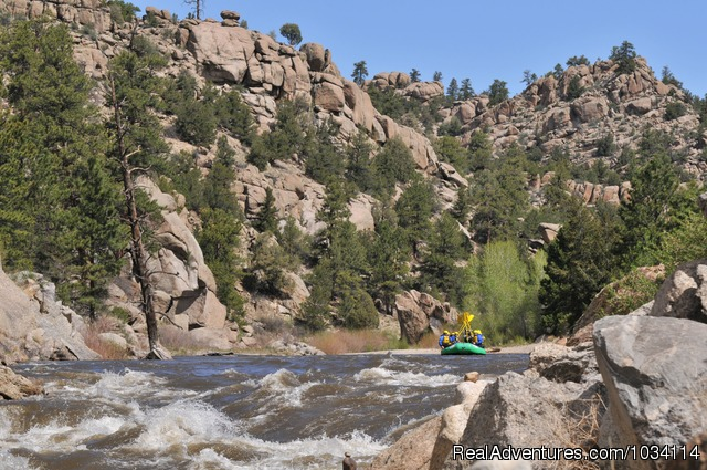 Browns Canyon National Monument - Arkansas River - Colorado Adventures - Raft, Zip & Horseback