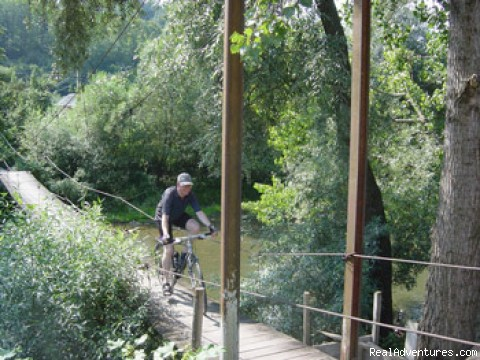 Sometimes we across and bridges - Discover ROMANIA by bike