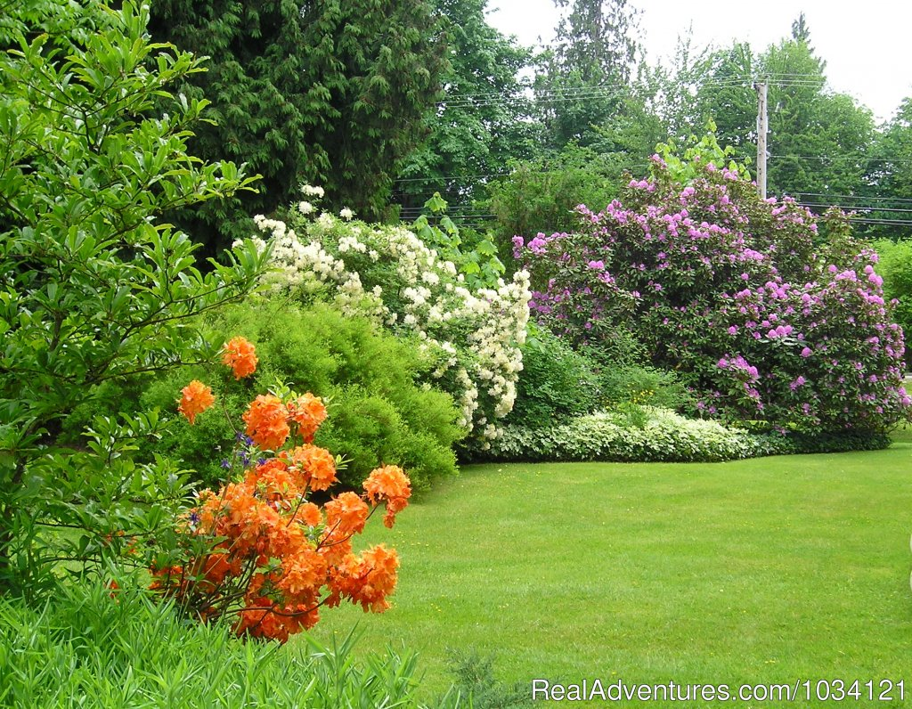 Lush heritage gardens | Image #25/26 | Cedar Wood Lodge Bed & Breakfast Inn