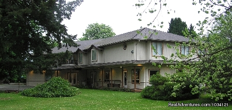 Plenty of open green space and hundreds of trees. - Cedar Wood Lodge Bed & Breakfast Inn