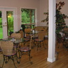 Enjoy our bistro garden-view dining room.