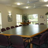 Meeting room facilities for up to 25 guests.