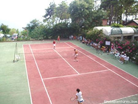 tennis court (#3 of 14) - a green oasis on the sea of Cinque Terre
