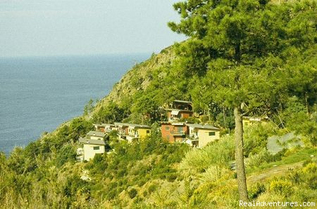 the park - a green oasis on the sea of Cinque Terre