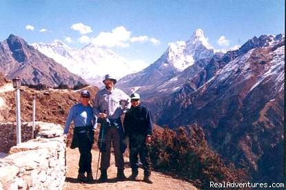 Early book Trekking in Nepal