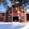 The barn at Christmas time