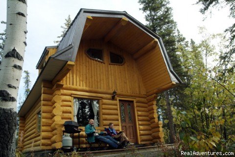 Honeymoon or Adventure at Yukon Forest Cabins B&B Cabin 1