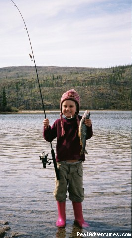 Go fishing! - Honeymoon or Adventure at Yukon Forest Cabins B&B