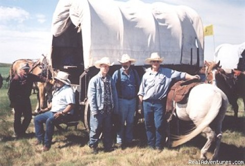 Wagon Train Teamsters (#6 of 14) - Family Adventure on Genuine Covered Wagon Train