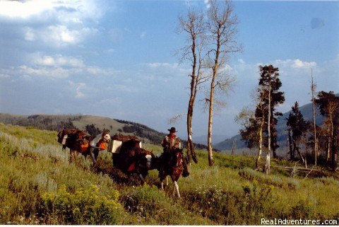 Cache Creek Flat - Wilderness Horseback Pack Trips