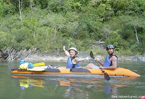 Green Dragon Belize Adventure Travel: Kayaking in Belize