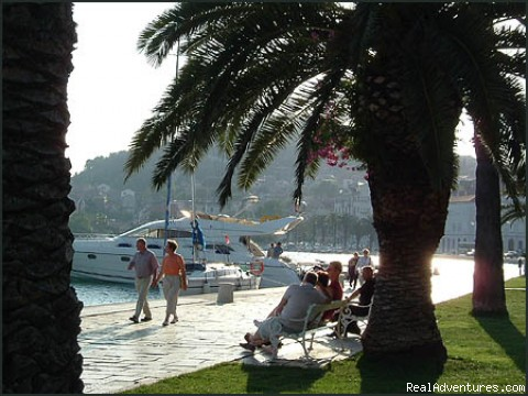 Split seafront promenade - Cruises in Croatia & on Dalmatian Coast
