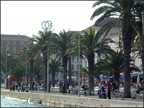 Split seafront promenade (#3 of 7) - Cruises in Croatia & on Dalmatian Coast