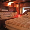 Luxury cabin on a sailing gulet