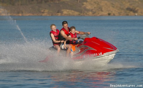 We also rent PWC and ski/wakeboard boats - The Ultimate Vacation on a Luxury Houseboat