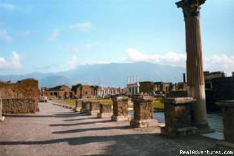 Bike Tours in Europe -- BikeToursDirect: On the way from Rome to Naples