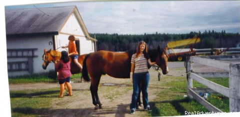Ready for Riding Lessons - Spend a Semester In The Canadian Wilderness