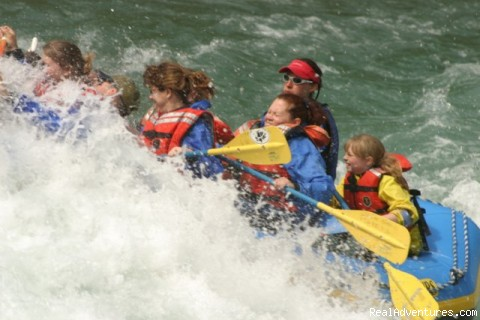Family Fun on the River - Outdoor  Adventures at Glacier National Park