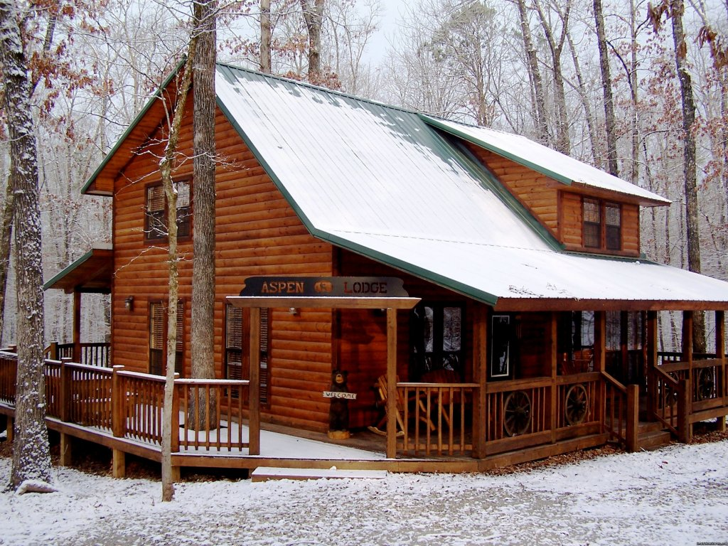 Aspen Lodge | Image #5/7 | Luxury Cabins at Beavers Bend Resort Park