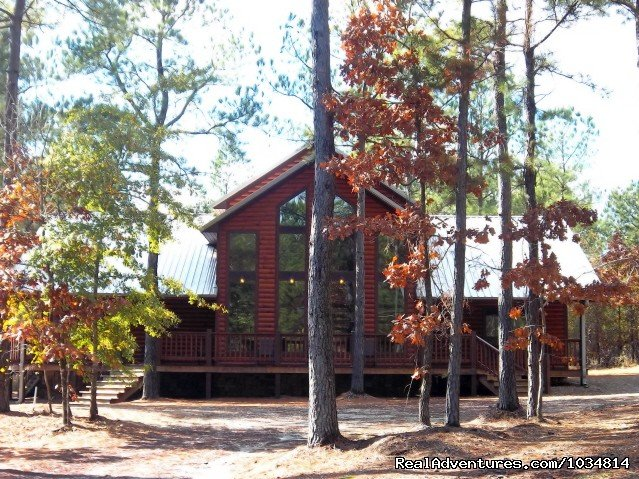 High Lonesome Lodge | Image #4/7 | Luxury Cabins at Beavers Bend Resort Park