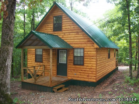 Lil Bear - Luxury Cabins at Beavers Bend Resort Park