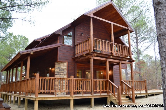 Oklahoma vacations travel packages realadventures for Vacation cabin kits