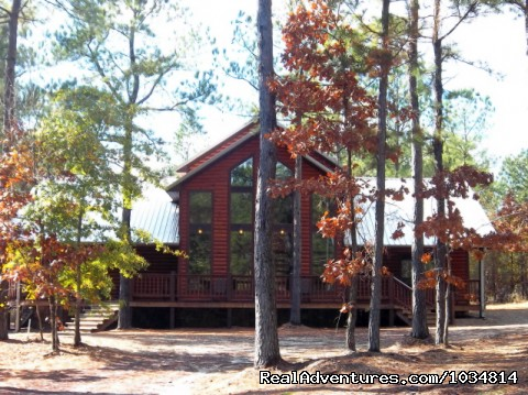High Lonesome Lodge - Luxury Cabins at Beavers Bend Resort Park