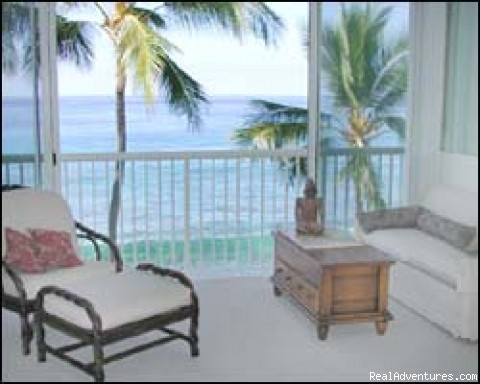 Living room (#5 of 10) - Absolute Oceanfront * Magnificent Sunsets