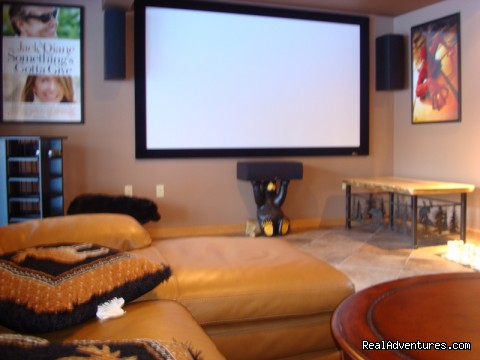 home theater room in each ski house - Magnificent Ski House/Stowe Vermont