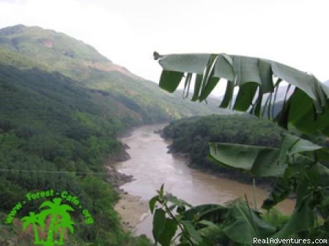 Mekong River - Trekking in Xishuangbanna, Yunnan of south China