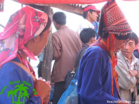 Ethnic Market - Trekking in Xishuangbanna, Yunnan of south China